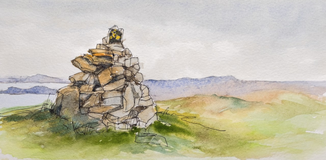 Cairn at Boulteenagh